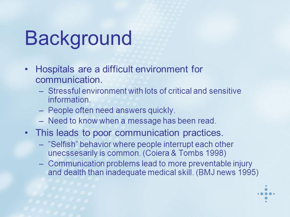 Interruptions Senior doctors get a lot of calls.