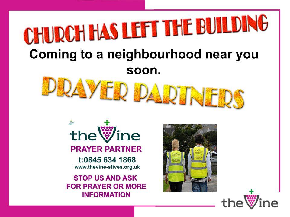 Coming to a neighbourhood near you soon.