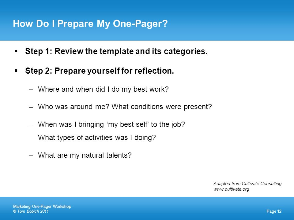  Step 1: Review the template and its categories.  Step 2: Prepare yourself for reflection.