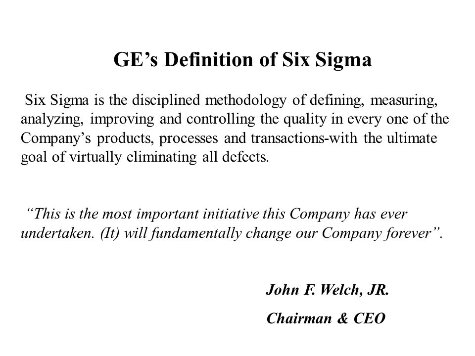 OPERATING EXCELLENCE MEANS LEAN PROCESSES WORKING AT SIX SIGMA QUALITY LEVELS MIKE JOYCE LOCKHEED-MARTIN