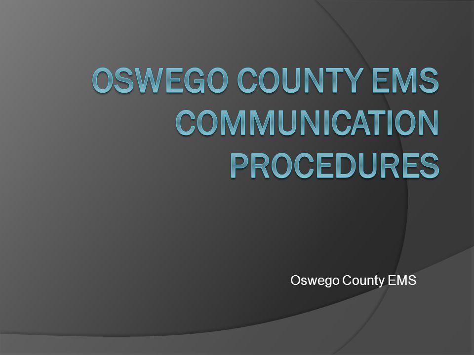 Oswego County EMS