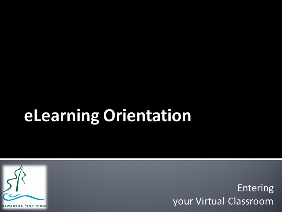 Entering your Virtual Classroom