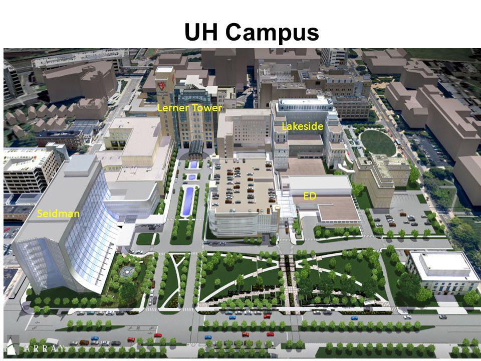UHUH Campus Lakeside Lerner Tower Seidman ED