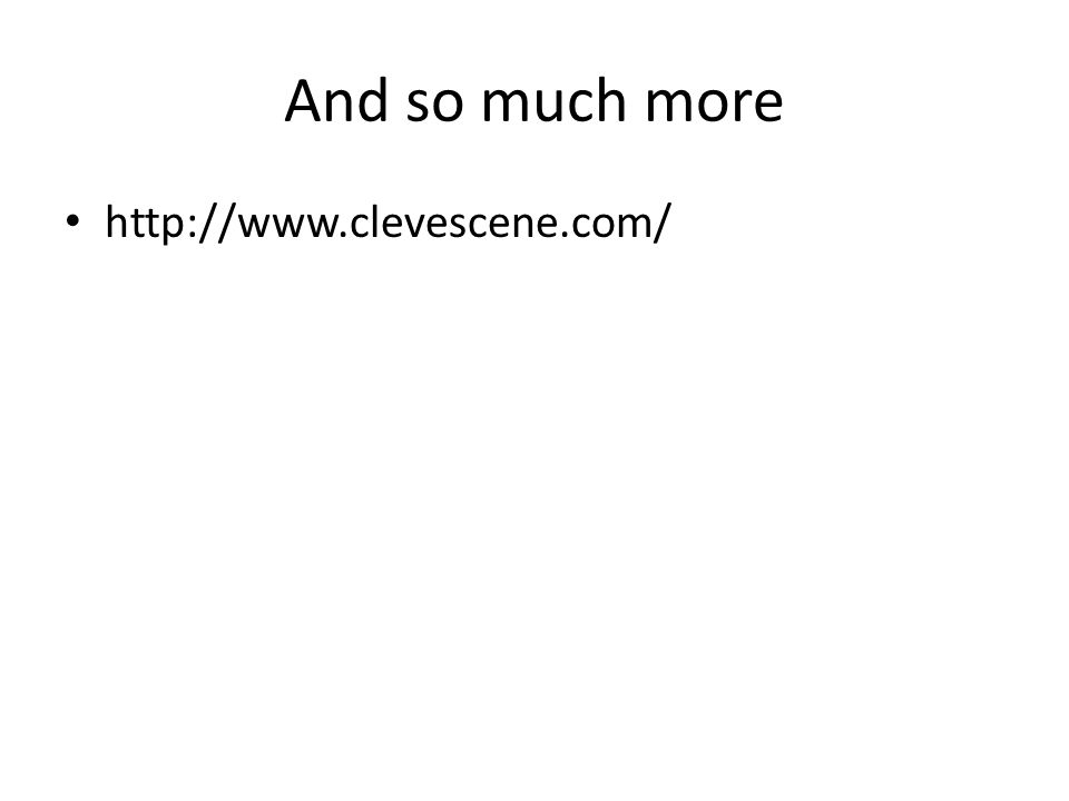 And so much more http://www.clevescene.com/