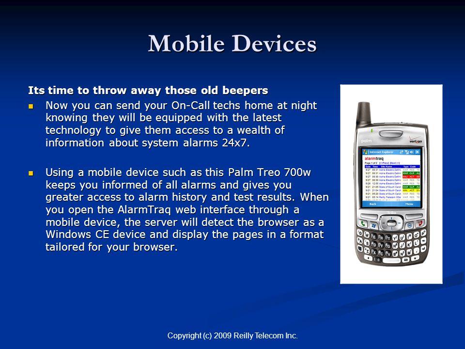 Copyright (c) 2009 Reilly Telecom Inc.