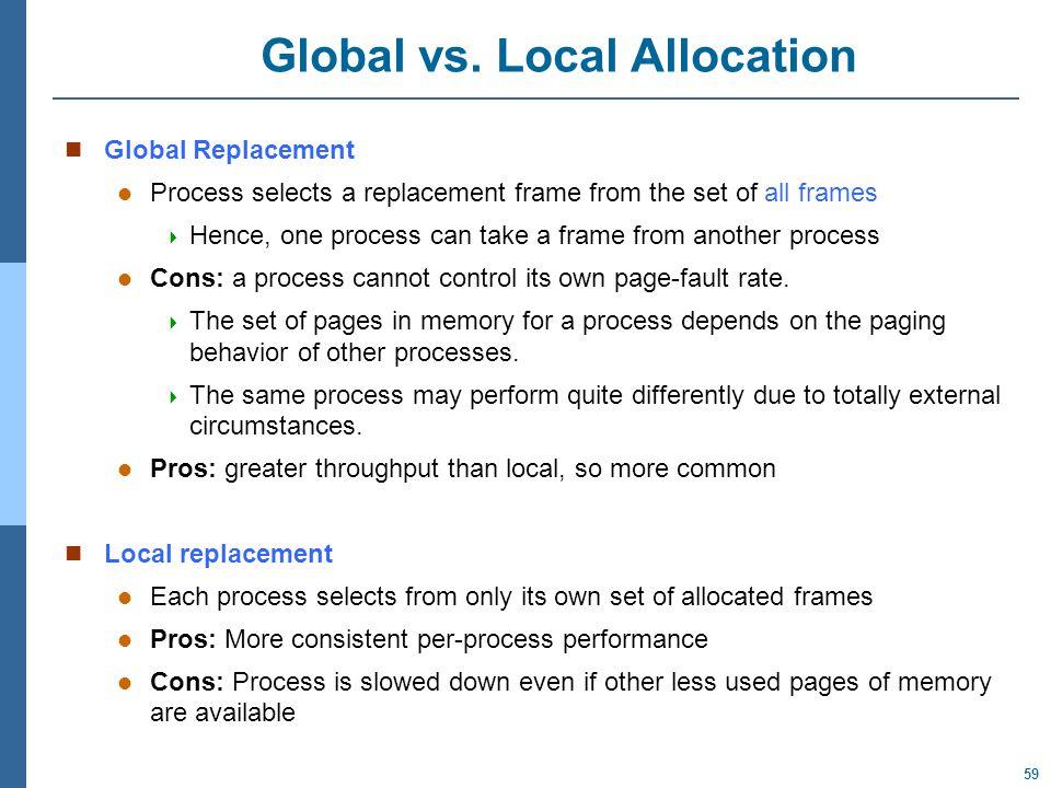 59 Global vs.
