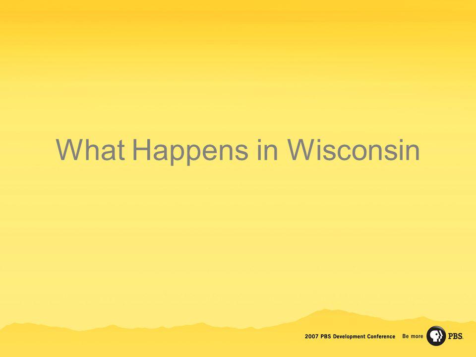 What Happens in Wisconsin