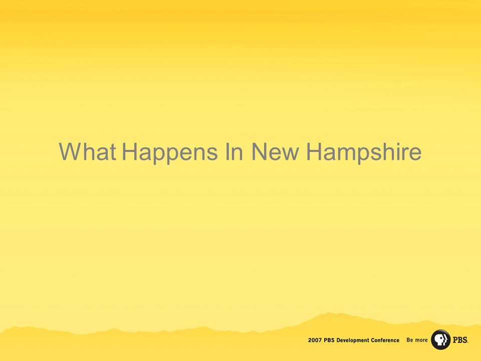 What Happens In New Hampshire