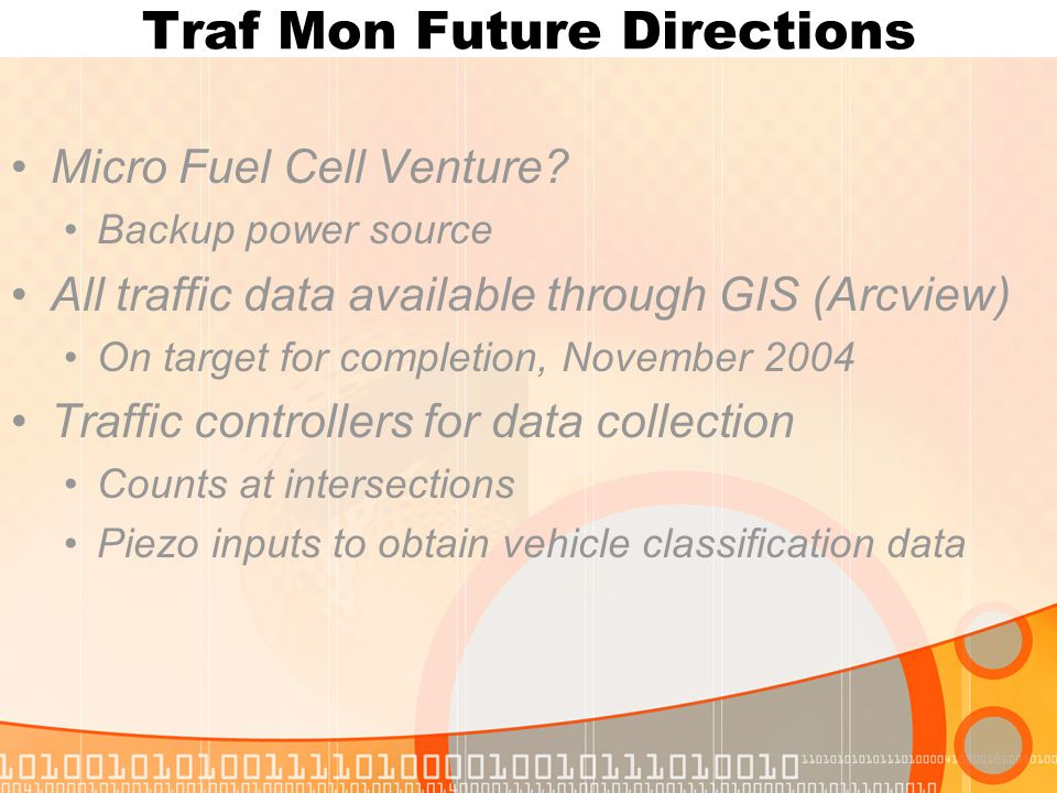 Traf Mon Future Directions Micro Fuel Cell Venture.