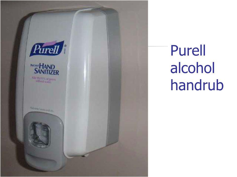 Purell alcohol handrub