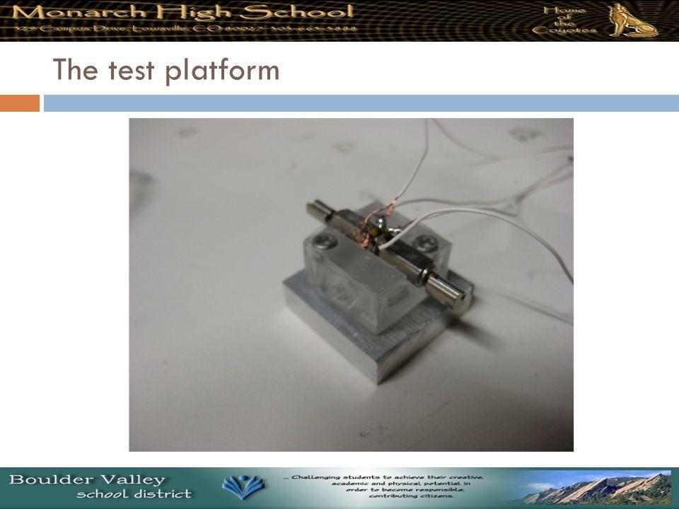 The test platform