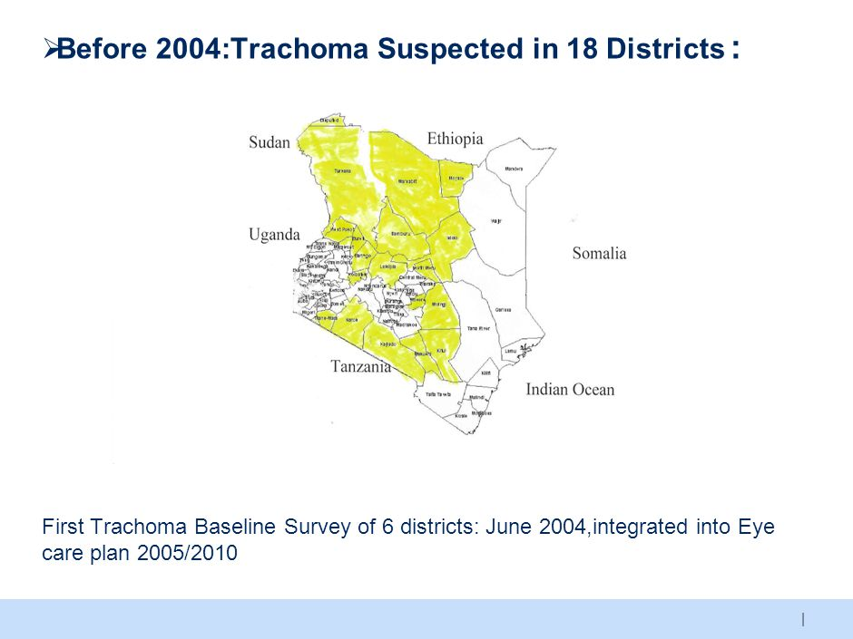 THANK YOU A Kenya free of Blinding Trachoma KENYA TRACHOMA ACTION PLAN