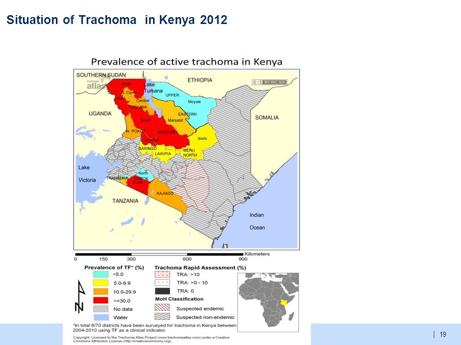 | Situation of Trachoma in Kenya 2012 19