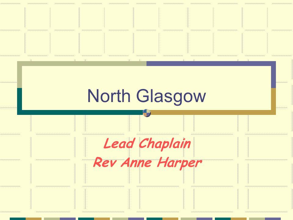 North Glasgow Lead Chaplain Rev Anne Harper