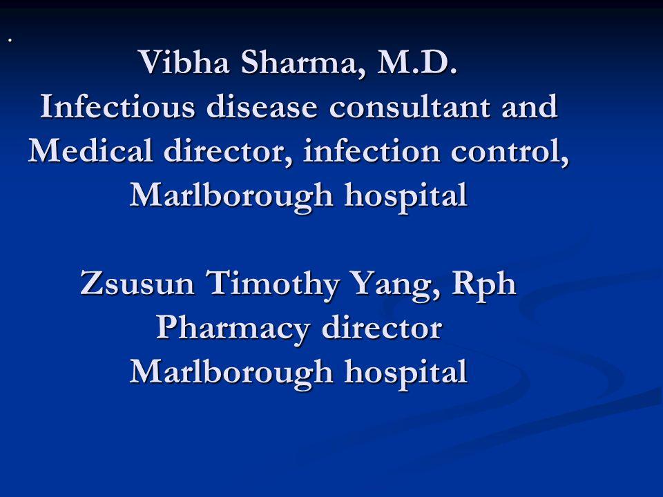 Vibha Sharma, M.D.