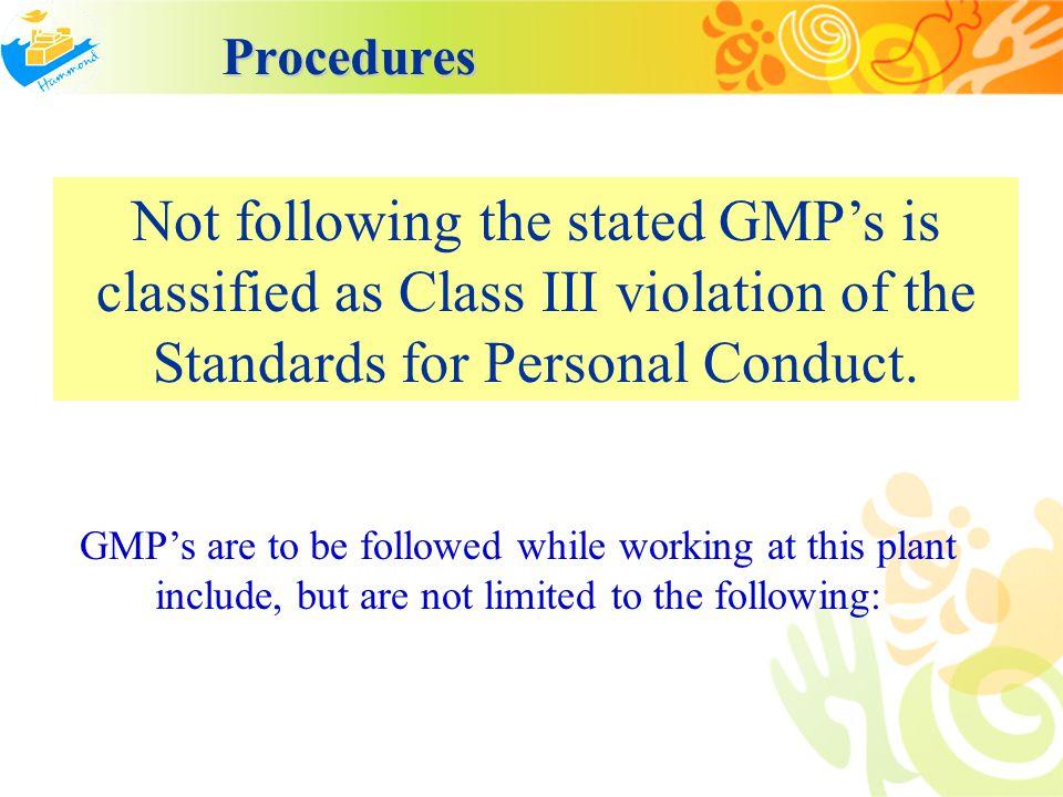 Procedures Procedures 1.