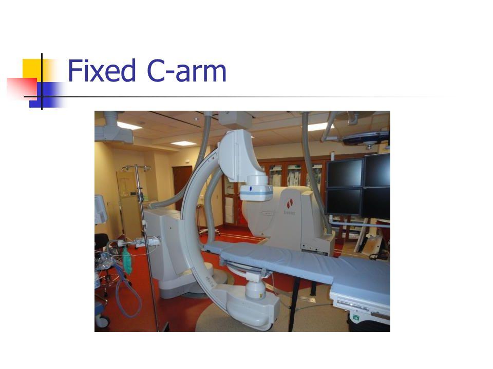Fixed C-arm