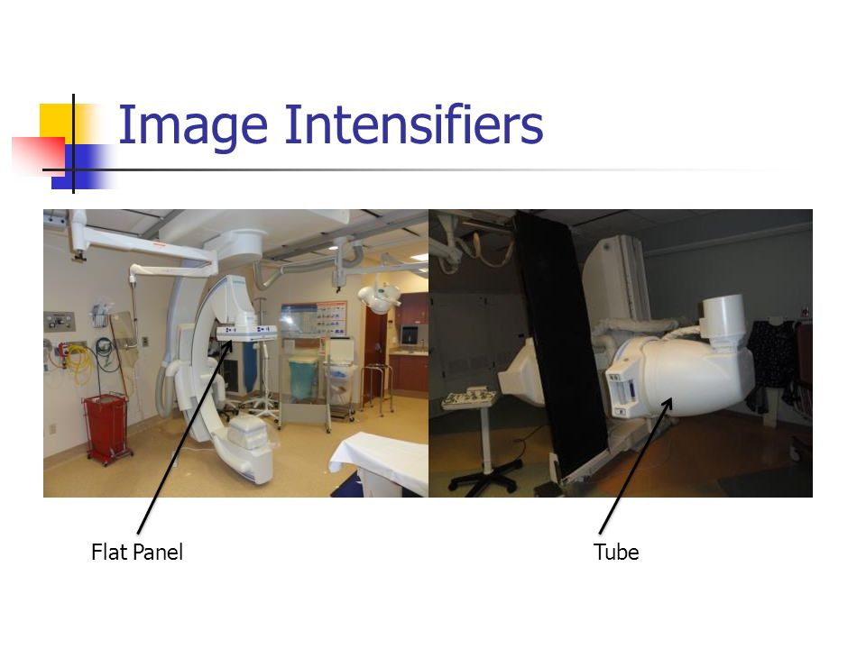 Image Intensifiers Flat PanelTube