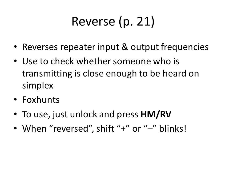 Reverse (p.