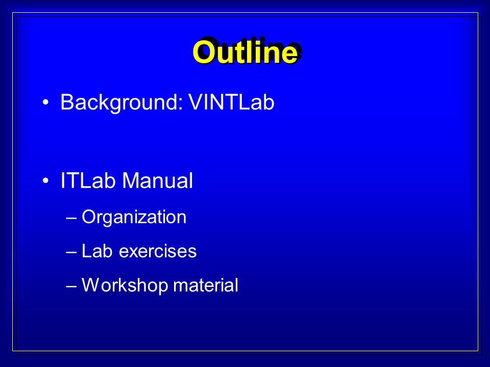 What is the VINTLab about.