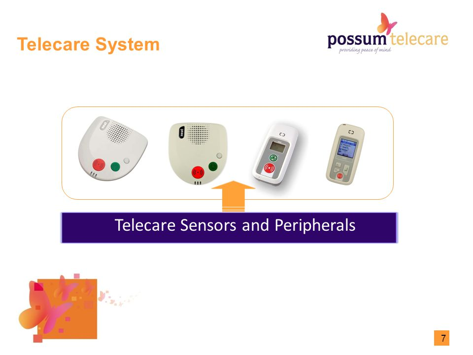 7 Telecare System Neo Care Phone Telecare Sensors and Peripherals