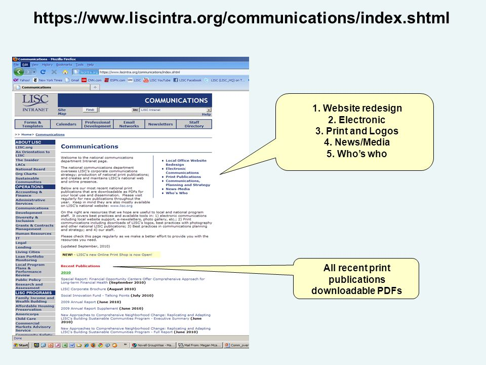 https://www.liscintra.org/communications/index.shtml 1.