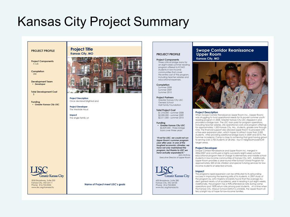 Kansas City Project Summary