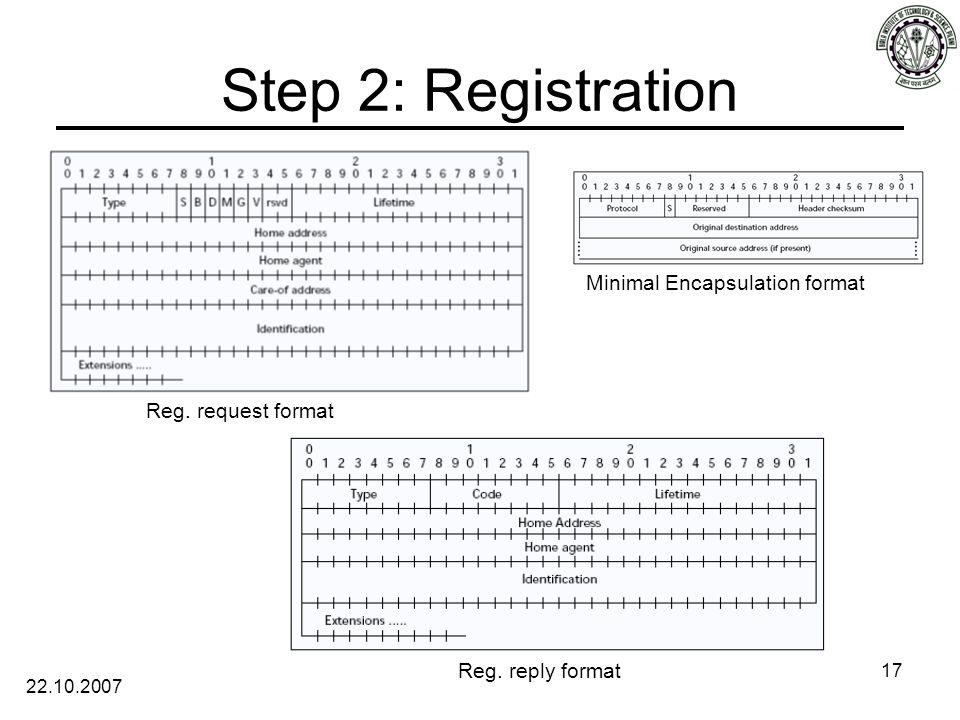 22.10.2007 17 Reg. request format Reg.
