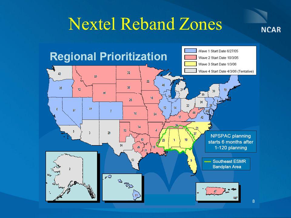 Nextel Reband Zones