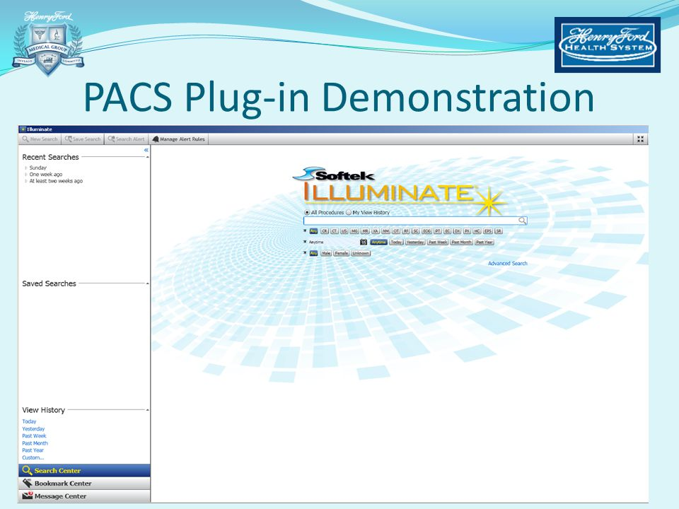 PACS Plug-in Demonstration