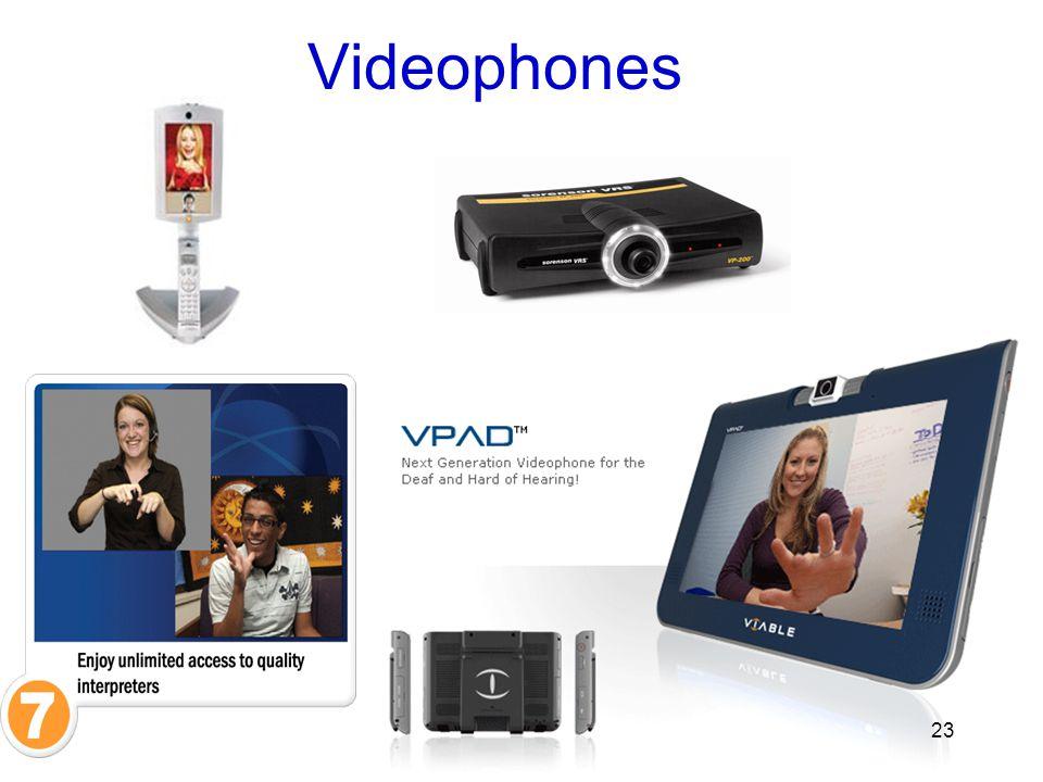 Videophones 23