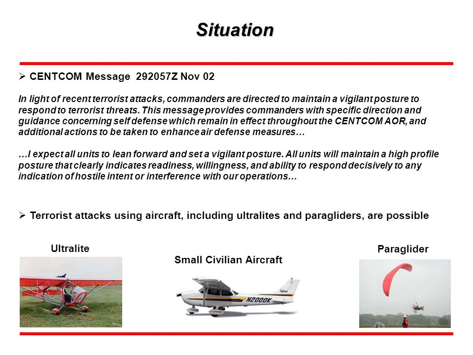 Mission: CFLCC establishes Short Range Air Defense (SHORAD) for Camp Doha in order to defeat air breathing threats.