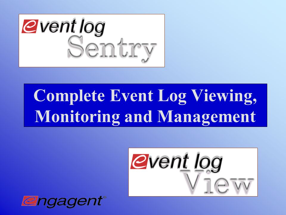 Automated Event Log Clearing with Event Log Sentry  Schedule automated clearings for multiple event logs on non-production hours