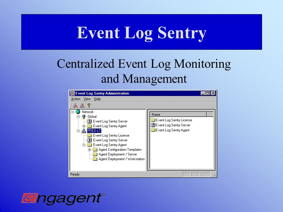 Why use Event Log View.  Best practices requires daily viewing of all event logs.