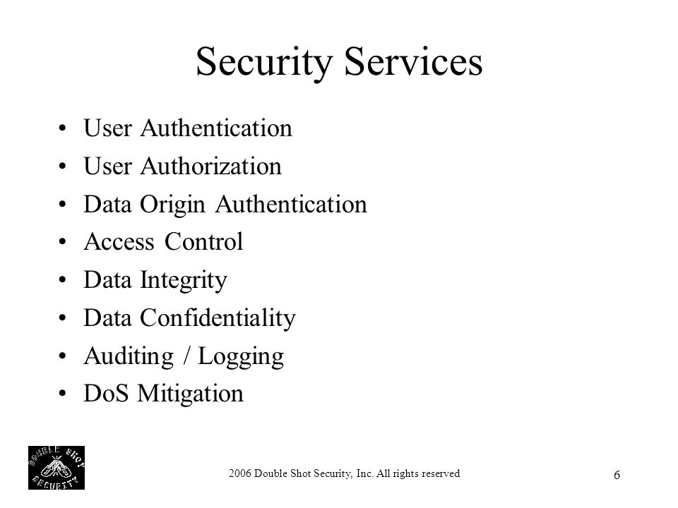 2006 Double Shot Security, Inc.