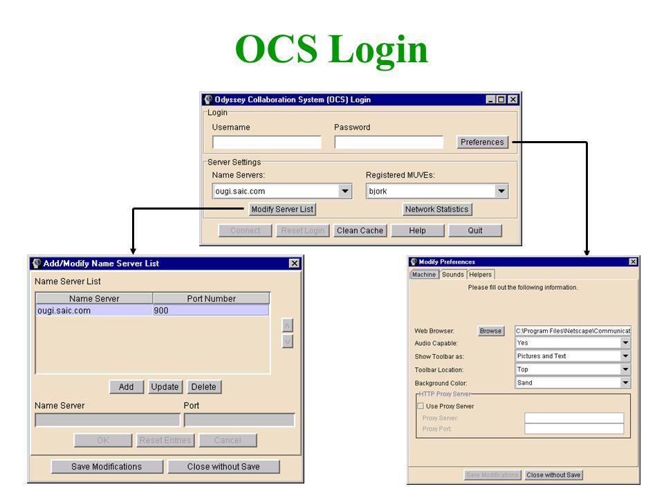 OCS Login