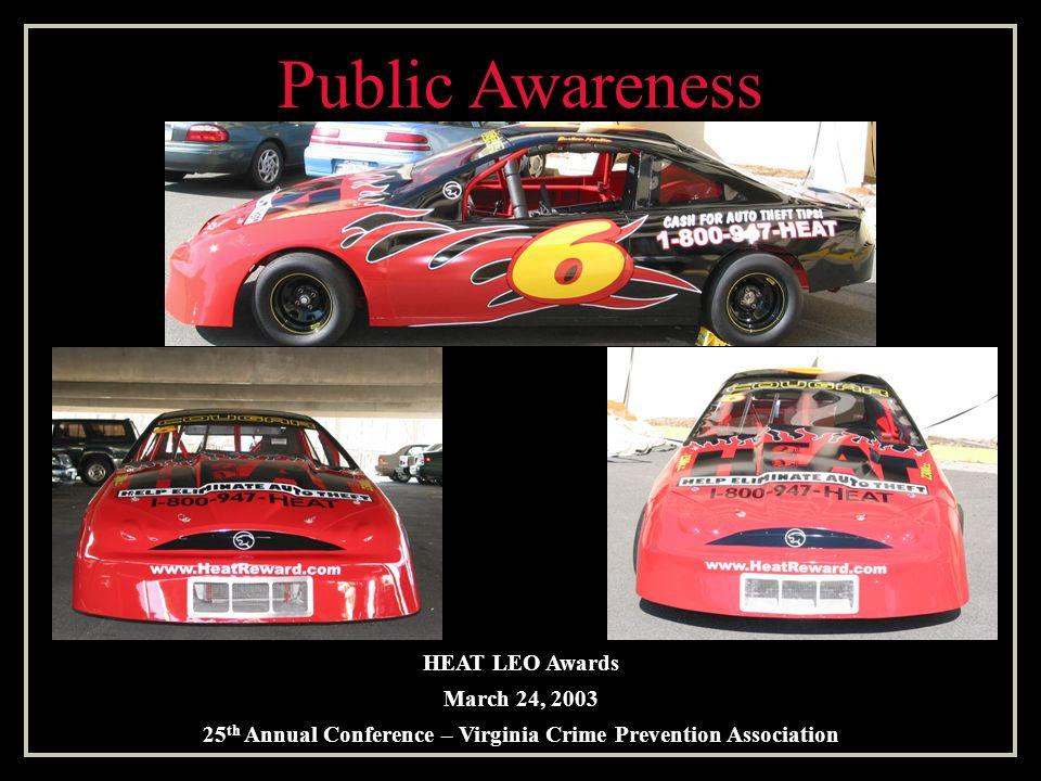 Based in Southwest Virginia Burton Martin Family Racing Team Public Awareness