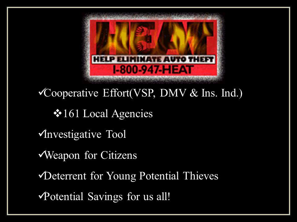 Cooperative Effort(VSP, DMV & Ins.