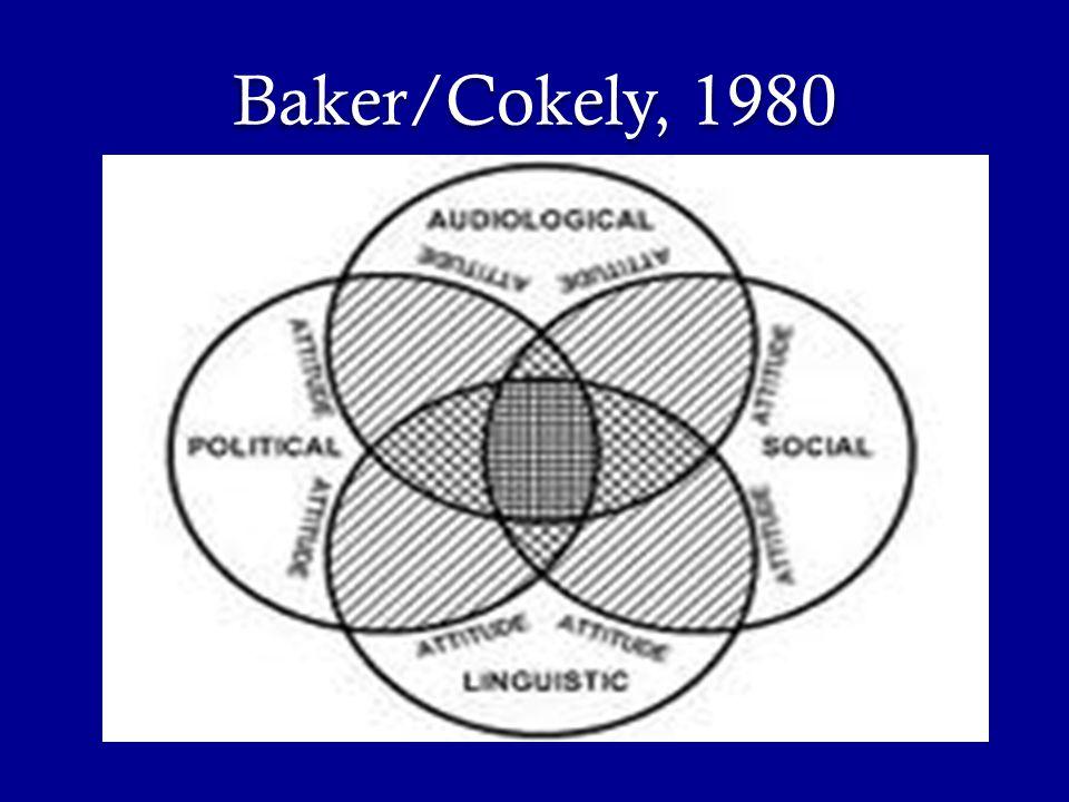 Baker/Cokely, 1980