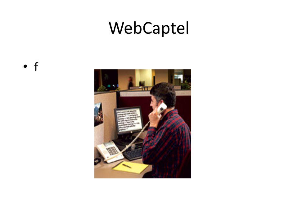 WebCaptel f