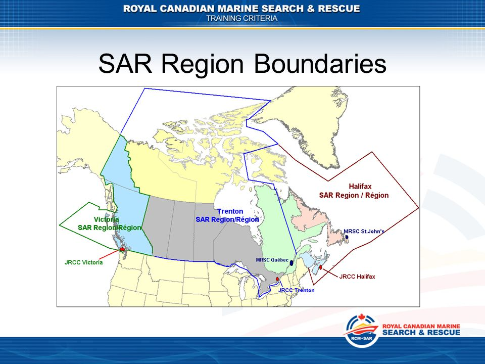 SAR Region Boundaries