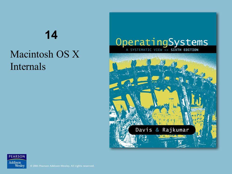 14 Macintosh OS X Internals