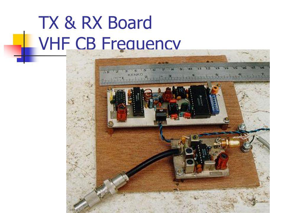 TX & RX Board VHF CB Frequency