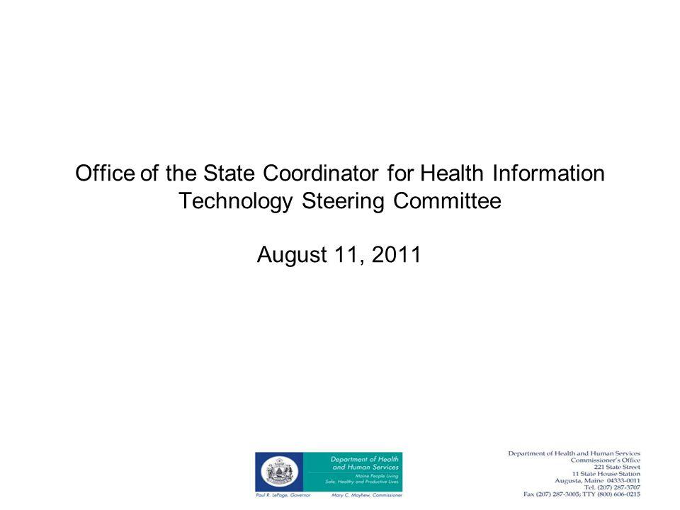 Maine Primary Care Association HIT Program Update