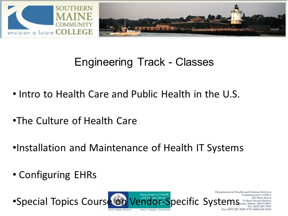 Engineering Track - Classes Intro to Health Care and Public Health in the U.S.