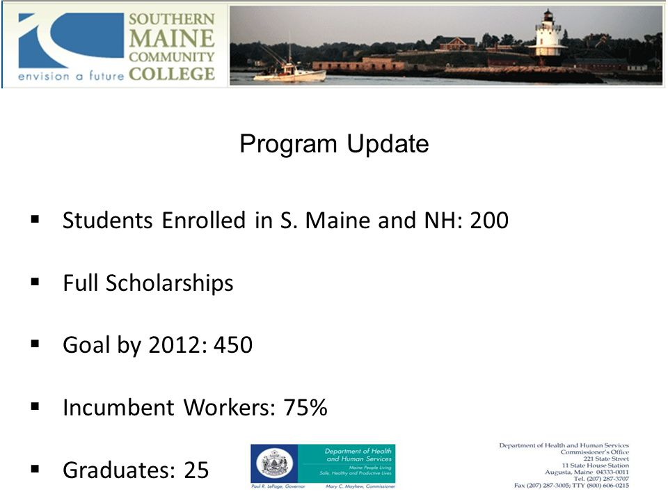 Program Update  Students Enrolled in S.