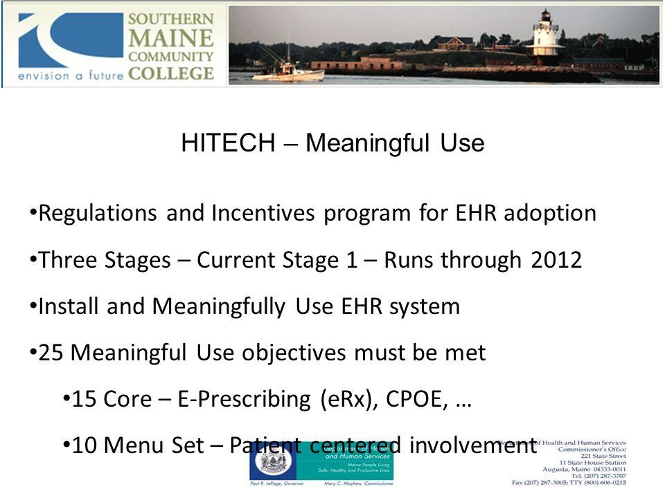 MaineCare HIT Initiative Program Status Update August 11, 2011