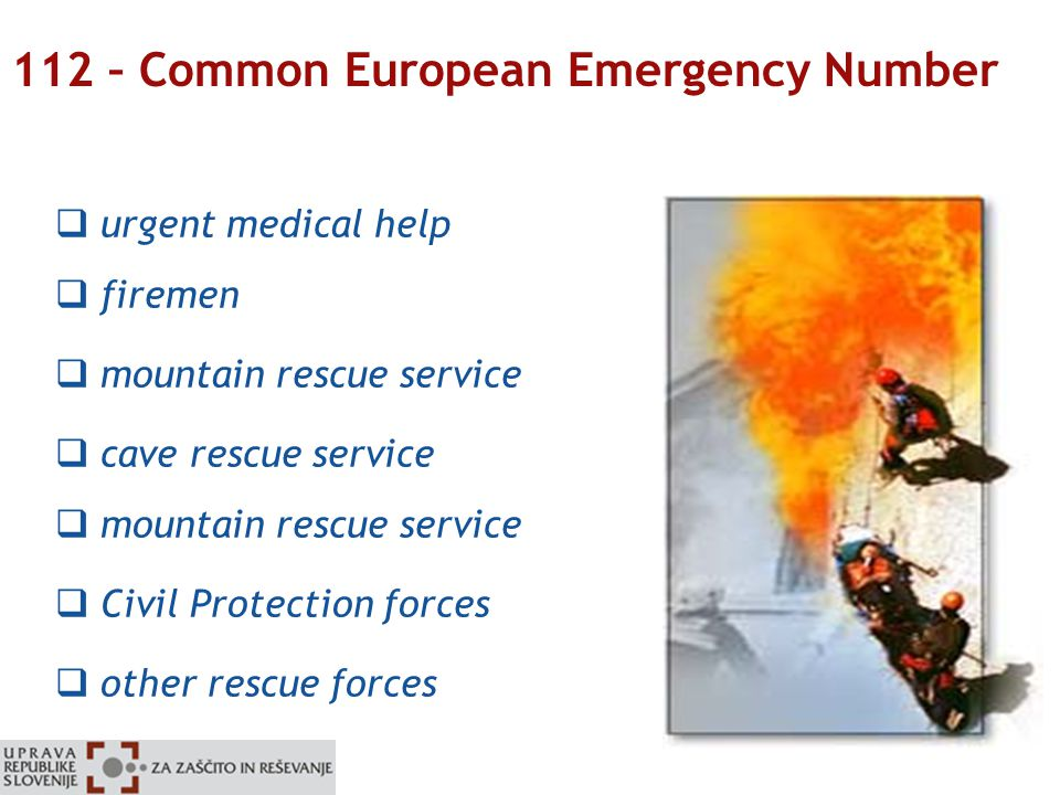 eSolutions for Civil Protection and Disaster Relief: Slovenia Case