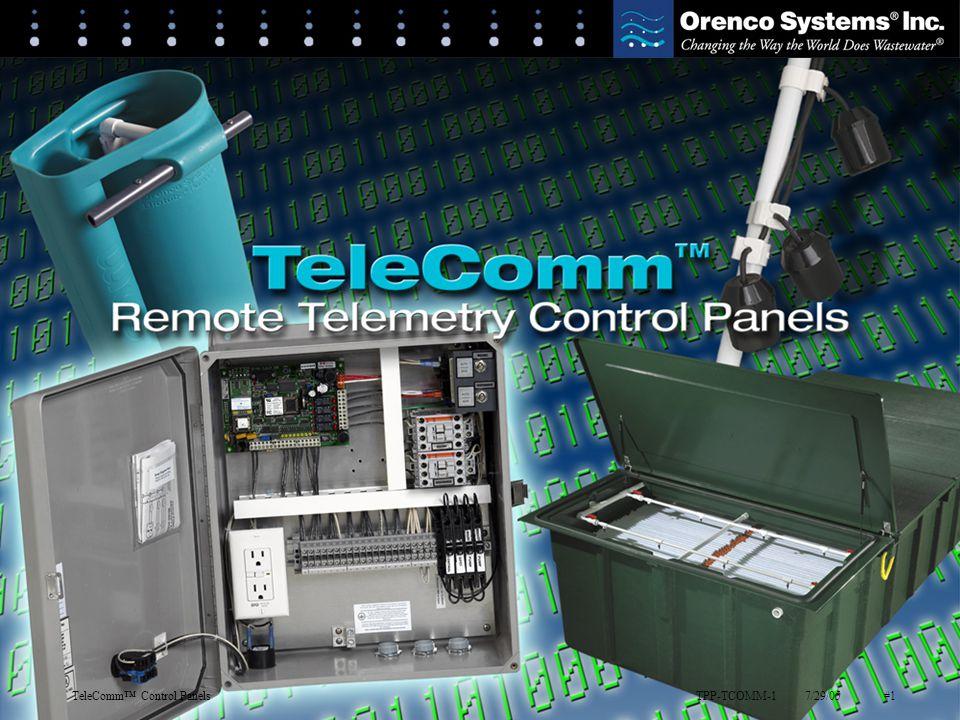 TPP-TCOMM-17/29/05#1TeleComm™ Control Panels TPP-TCOMM-17/29/05#1