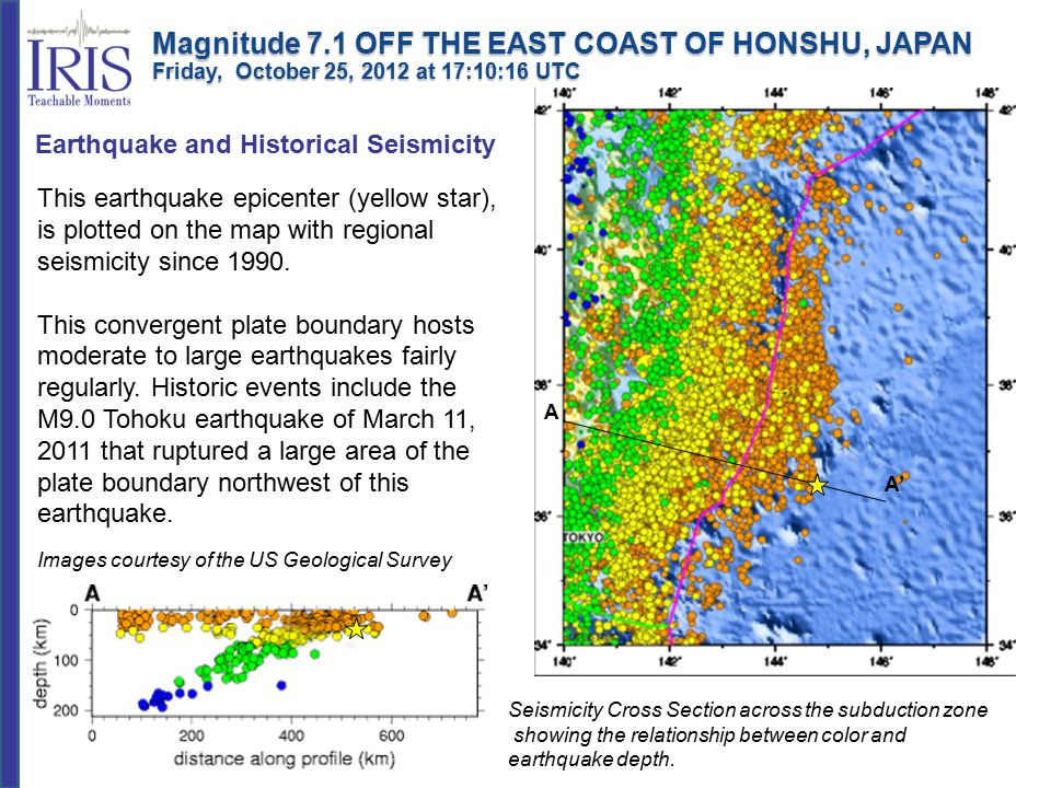 According to the USGS, this earthquake occurred as the result of normal faulting in the shallow oceanic crust of the Pacific plate.